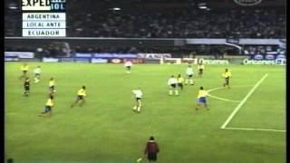 Argentina 2 Ecuador 1 Eliminatorias Francia 1998 (Resumen Completo)