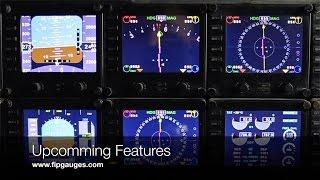 Upcomming Features for Saitek Flight Information Panel & SPAD.neXt