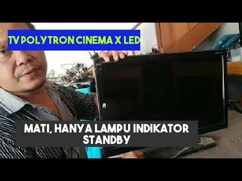 POLYTRON CINEMA X LED Hanya Lampu Standby