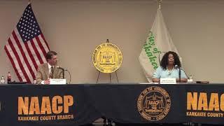 NAACP of Kankakee County Kankakee Mayor Candidates' Forum 2021