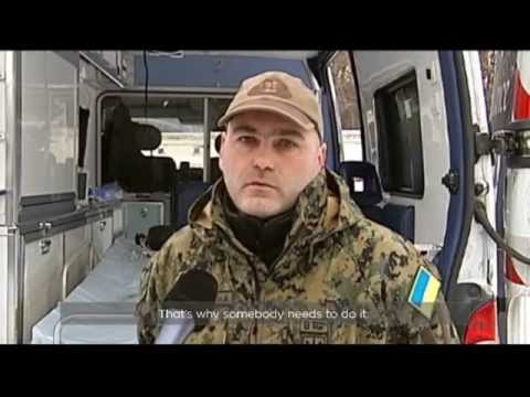 Ukraine's First Mobile Hospital: Medical battalion depends on aid from volunteers across world