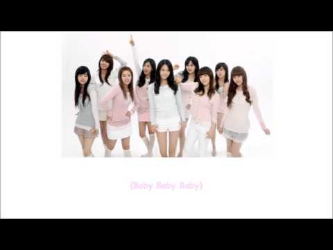 Ba Ba SNSD Lyrics ENG+ROM