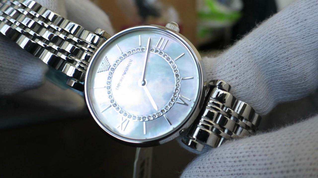 ae1a1142 Emporio Armani Gianni T-Bar Dress Watch AR1908