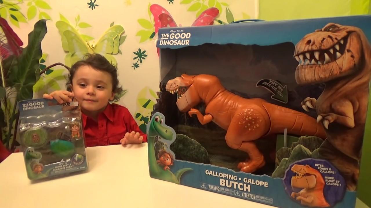 ХОРОШИЙ ДИНОЗАВР - Обзор игрушек Динозавр, Дружок / The Good Dinosaur NEW Toys Review