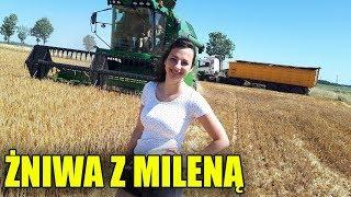 Żniwa z Dziewczyną 2019 ☆ Milena w Kombajnie!