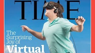 Time Magazine's Weird VR Cover Becomes A Meme (ft. Emily Kinney!) | What's Trending Now