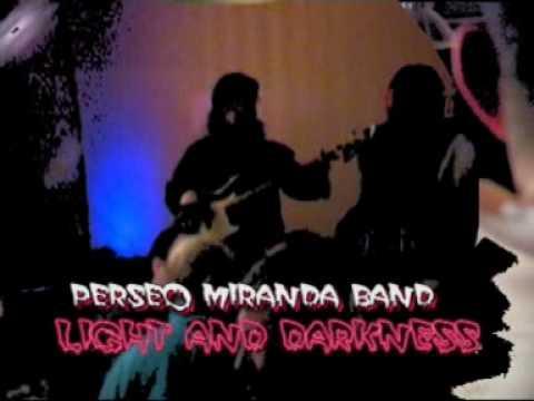 PERSEO MIRANDA Live Band(spezzone Light And Darkness)Showcase Pub Crippa Genova