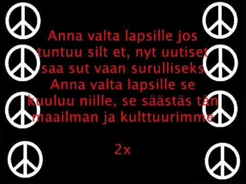 Pikku G - Valta Lapsille (Lyrics)