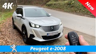 Peugeot E-2008 Allure 2021 - First FULL In-depth Review In 4K | Exterior - Interior