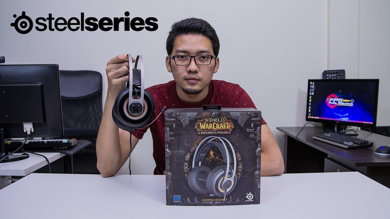 SteelSeries Siberia Elite World of Warcraft Gaming Headset Drivers Download (2019)