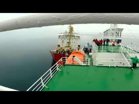 2014 Victoria Strait Expedition: Transferring R/V Investigator