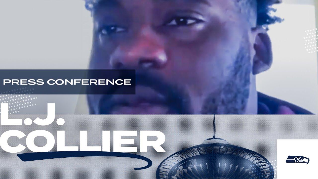 L.J. Collier 2020 Offseason Press Conference