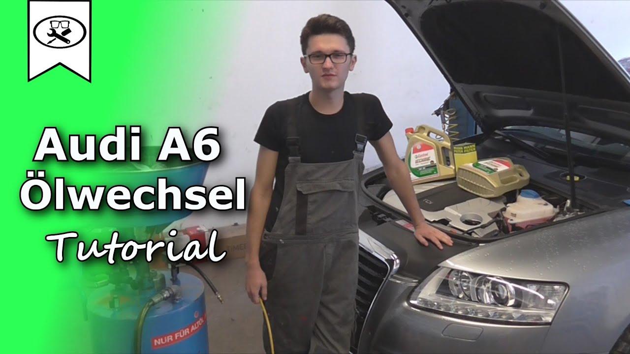 Audi a4 20 tdi motor oil