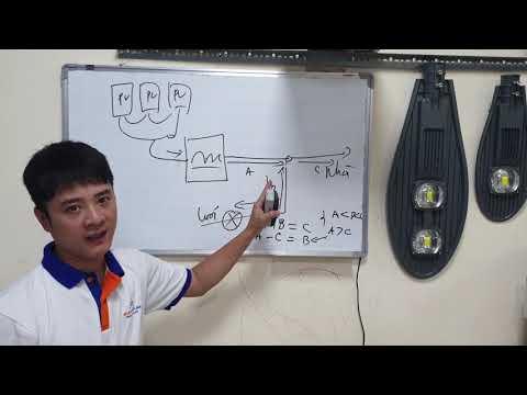 Nguyên lý cơ bản hệ thống điện mặt trời hòa lưới