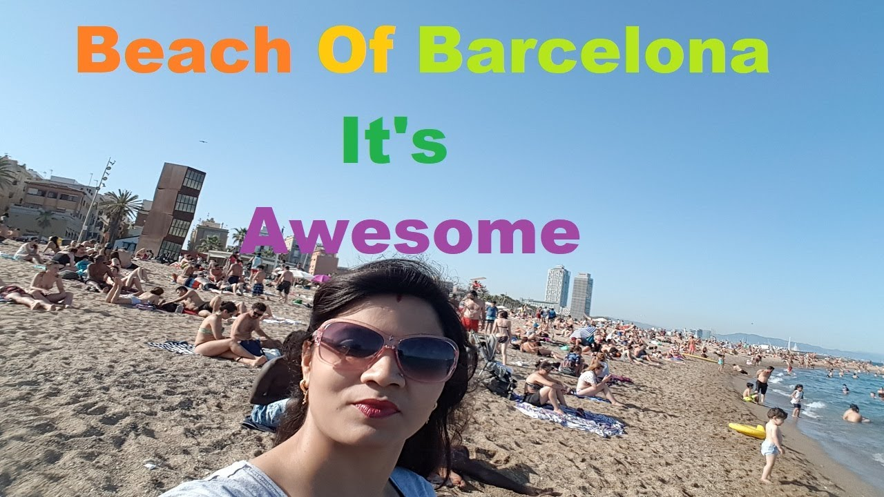 Is That Right On Barcelona Beach  Naked Beach Of -5003