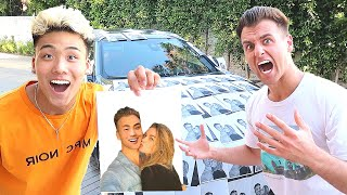 I Photoshopped Myself With His Girlfriend And Covered His Car (FREAK OUT)