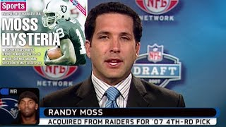 Reactions to Randy Moss TRADED from Raiders to Patriots!