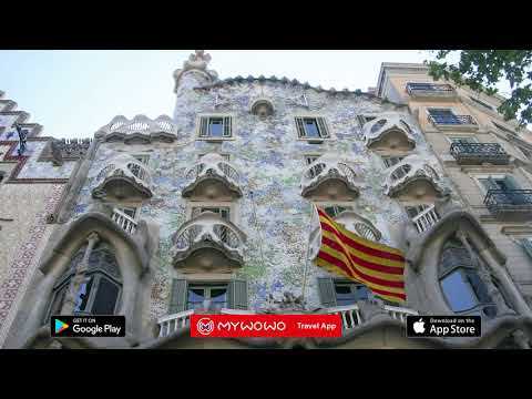 Casa Batlló – Presentation – Barcelona – Audio Guide – MyWoWo Travel App