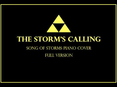 The Storm's Calling (Song of Storms - Piano Cover) [Full Version]
