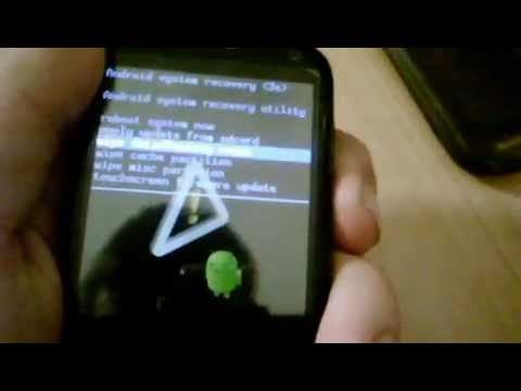 How to hard reset a Huawei Blaze/ Ideos X3/ U8510
