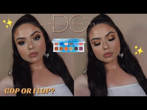 DOMINIQUE COSMETICS RUSTIC GLAM PALETTE REVIEW | COP OR FLOP? | GlamabelleTV thumbnail