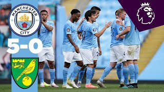 HIGHLIGHTS | MAN CITY 5-0 NORWICH | Jesus, De Bruyne, Sterling, Mahrez, De Bruyne