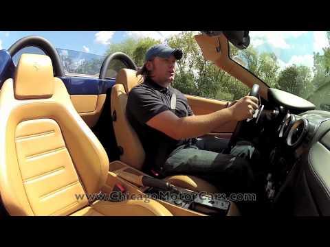Ferrari F430 F1 Spider--Chicago Motor Cars Video Test Drive with Chris Moran 2012