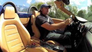 Ferrari F430 F1 Spider--Chicago Motor Cars Video Test Drive with Chris Moran 2012