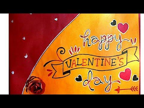   Valentine's💟 Day Card Idea   Handmade Cards   Rare Creation