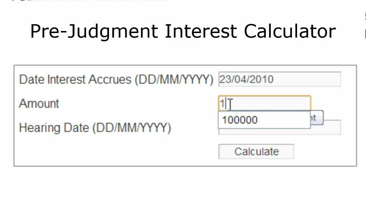 interest calculator from date to date