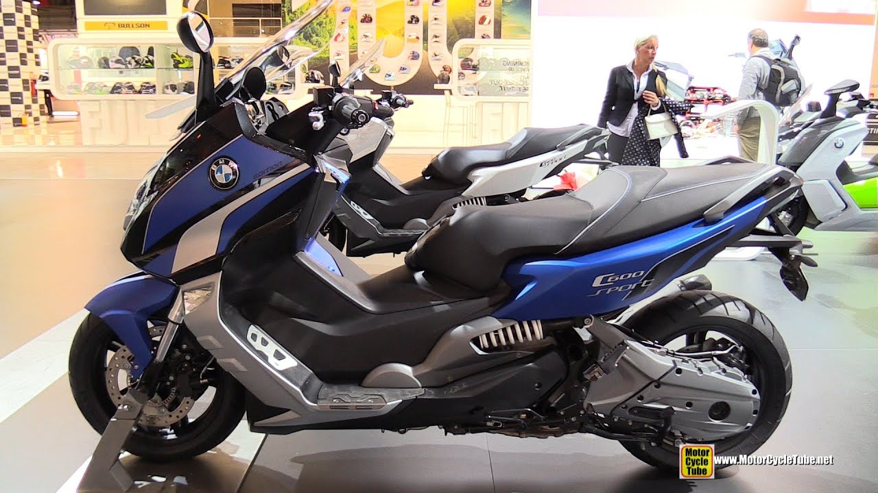 2015 bmw c600 sport maxi scooter walkaround 2014 eicma milan motorcycle exhibition youtube. Black Bedroom Furniture Sets. Home Design Ideas