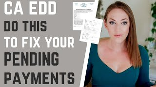 CA EDD Pending - How to Fix EDD Pending Payments,Pending Certifications Contact Your Assembly Member
