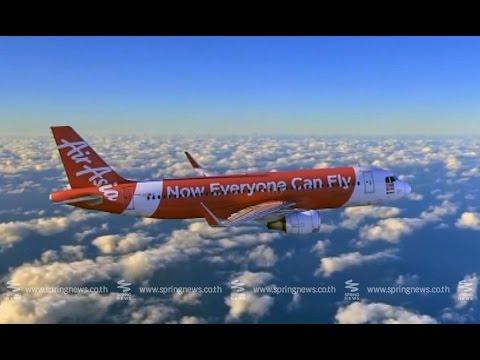 แอร์เอเชียกระทบหนักหลังเครื่องบินหาย - Springnews