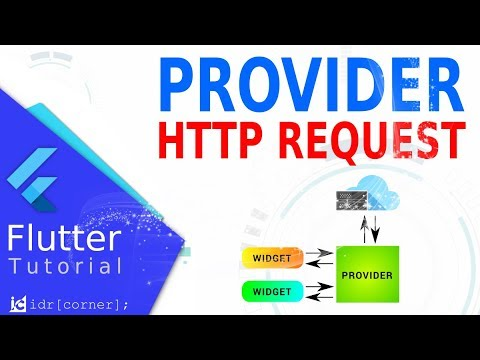 Flutter - Provider - Network Request