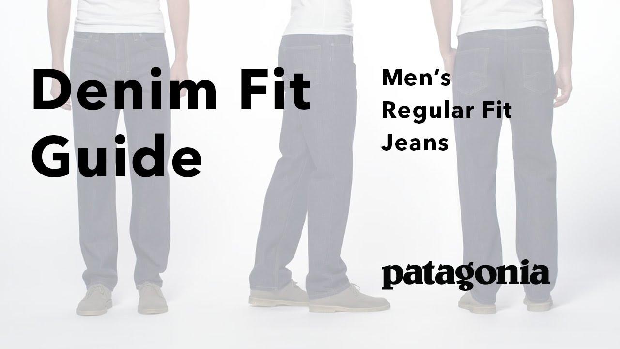 0ac813582768 Patagonia Men's Regular Fit Jeans - Fit Guide - YouTube