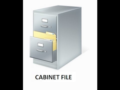 make a cab file