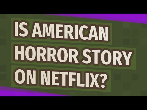 Is American Horror Story On Netflix?