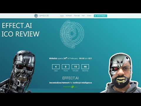 Effect AI ICO review - all in one AI solution vs GEMs, DeepBrain Chain and SingularityNET