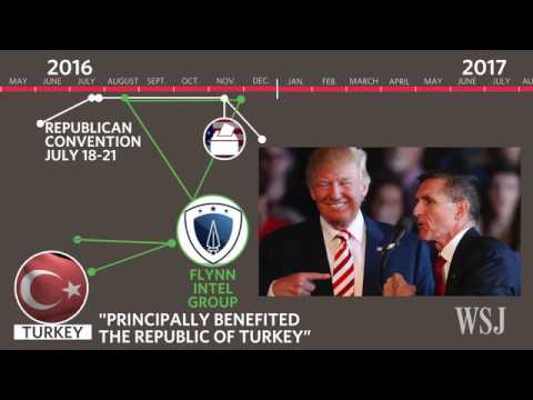 Ex CIA Director Mike Flynn and Turkish Officials Discussed Removal of Erdogan Foe From US   WSJ