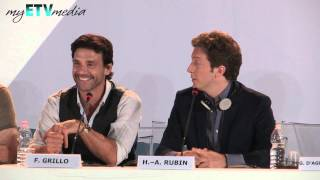 Henry Rubin & Frank Grillo on Disconnect (69th Venice International Film Festival)