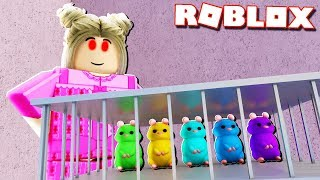 Roblox Adventures - ESCAPE THE GIRL AS GUINEA PIGS IN ROBLOX! (Piggy Life)