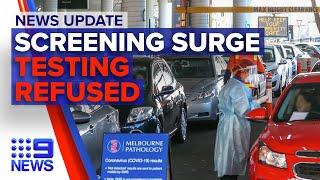 Update: increased screenings across Sydney, Victorians refuse COVID-19 testing