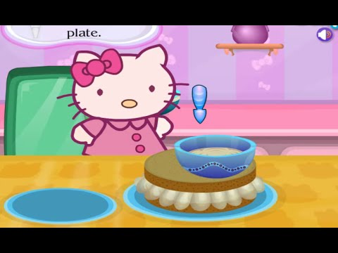 Hello Kitty Birthday Cake Online Free Flash Game Videos GAMEPLAY