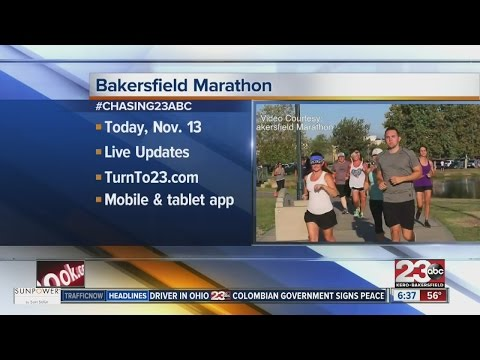 First ever Bakersfield marathon interview with a runner