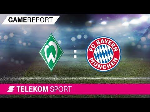 SV Werder Bremen - FC Bayern München | 20. Spieltag, Saison 17/18 | Telekom Sport