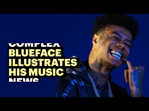 "Blueface Illustrates Viral ""Thotiana,"" ""Next Big Thing,"" and ""Bleed It"""