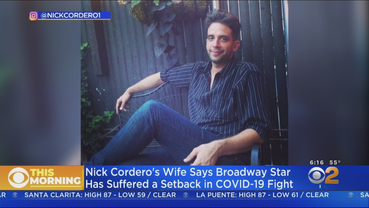 Coronavirus News: Broadway star Nick Cordero suffers setback ...