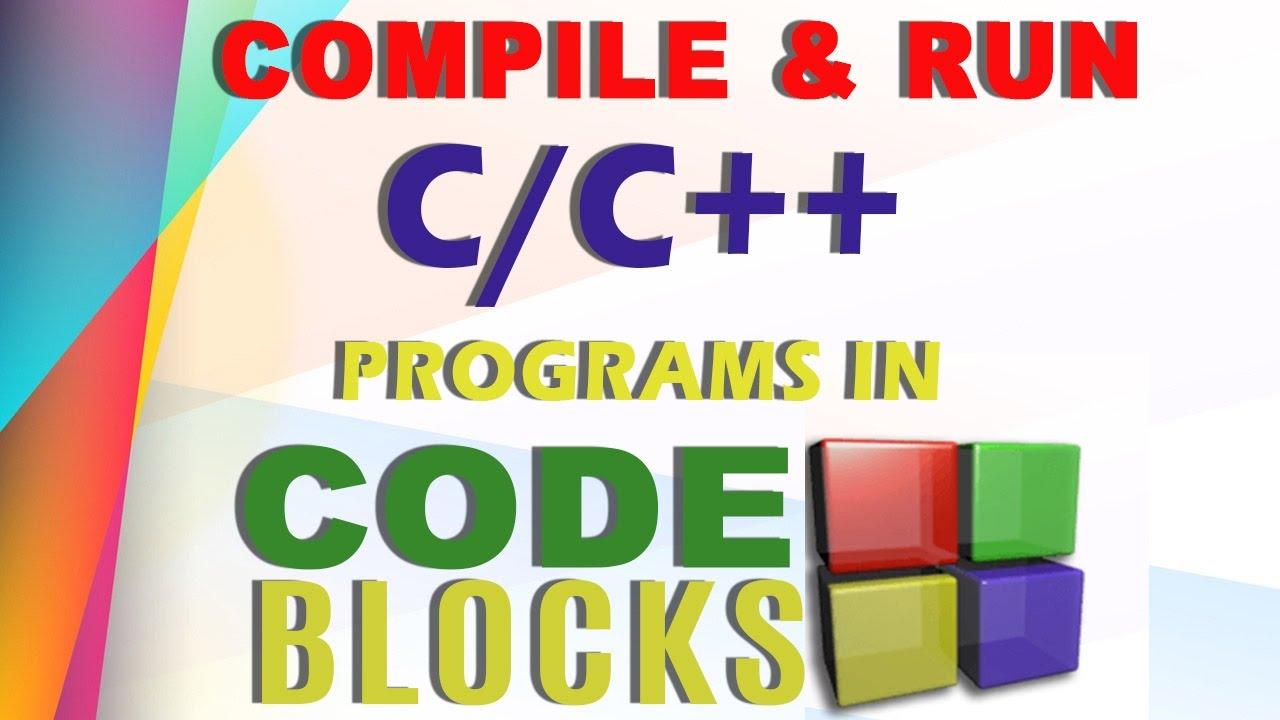 how to write c program in code blocks
