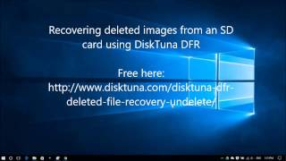 Recover deleted photos from sd card - undelete [ENG]