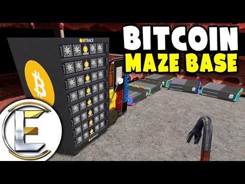 Bitcoin Maze Base - GMOD DarkRP Life EP 15 (Building A OP Maze Base With Defenses)